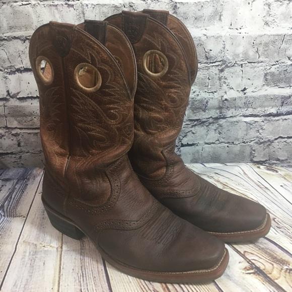 e366691a5da Ariat Heritage Roughstock Boots Men's 9D